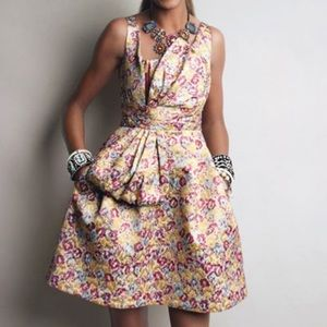 NEW Shimmery Floral Dress Zac Posen for Target 6